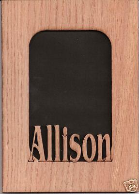 Personalized wood NAME FRAME/ANY NAME-w/o frame-5x7