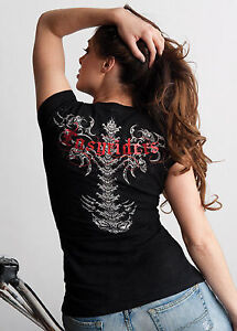 Easyriders Ladies Wicked Spine T-Shirt, Size Medium and XL London Ontario image 1
