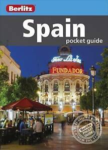 Berlitz: Spain Pocket Guide (Berlitz Pocket Guides), Berlitz Publishing, New Boo