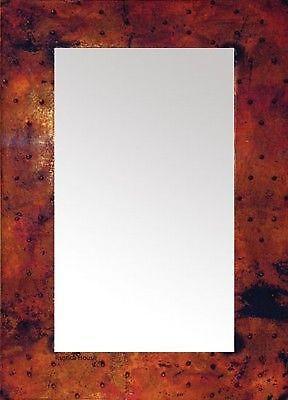Hammered Copper Mirror Ebay