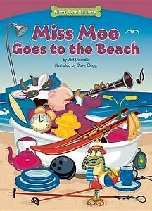Miss Moo Goes to the Beach (Character Education: Responsibility)-ExLibrary
