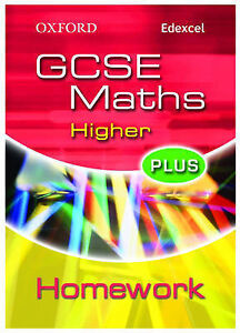 Oxford GCSE Maths for Edexcel: Higher Plus Homework Book by Clare Plass (Paperb…