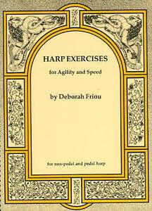 Deborah Friou Harp Exercises For Agility And Speed by Deborah Friou - London, Greenwich, United Kingdom - Deborah Friou Harp Exercises For Agility And Speed by Deborah Friou - London, Greenwich, United Kingdom