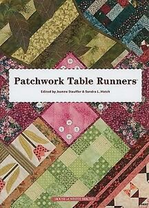(2009)  Runners table runners Paper used  (Pape Used Stauffer Patchwork Trade   Table