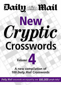 Daily Mail New Cryptic Crosswords vol 4 BRAND NEW BOOK (Paperback)