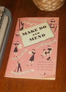 World-War-Two-Make-Do-and-Mend-Book-WW2-1942-Clothes-Home-Front-Fashion