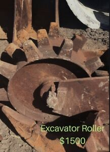 Excavator Roller and Buckets Hope Island Gold Coast North Preview