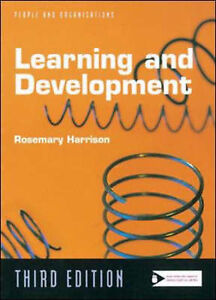 """""""AS NEW"""" Learning and Development (People & organizations), Harrison, Rosemary,"""