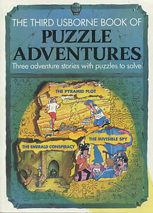 Third Usborne Book of Puzzle Adventures (Usborne Puzzle Adventures), Good Condit