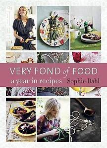 Very-Fond-of-Food-A-Year-in-Recipes-by-Sophie-Dahl-Hardcover-Book-English