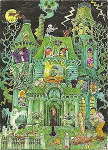 Looking for Springbok House on Haunted Hill Jigsaw Puzzle Horror