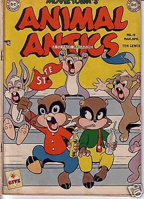 Animal Antics 19 (1949) in Very Good-:  FREE to combine