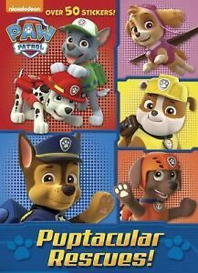 Jumbo Coloring Book Puptacular Rescues Paw Patrol By Golden Books 2016 Paperback