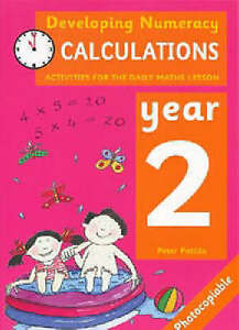 Developing Numeracy: Calculations: Year 2 Activities for the Daily Maths Lesson,