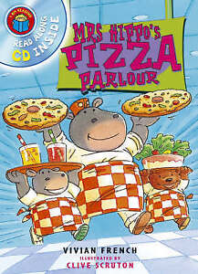 Good, Mrs Hippo's Pizza Parlour (I Am Reading), French, Vivian, Book