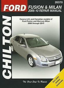 Ford Fusion Manual Ebay