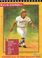 Willie Stargell Puzzle Donruss COMPLET