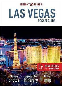 LAS VEGAS POCKET GUIDE - NEW - INSIGHT GUIDES - PULL OUT MAP - USA