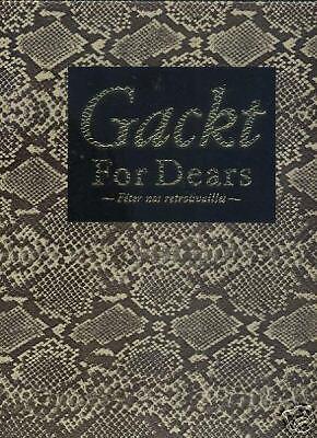 "GACKT Japan Photo Book ""Gackt For Dears Japanese 1"
