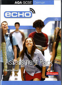 Echo AQA GCSE German Assessment Pack (Higher and Foundation),