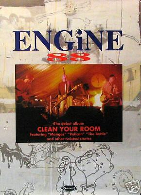 ENGINE 88 POSTER; CLEAN YOUR ROOM (E3)