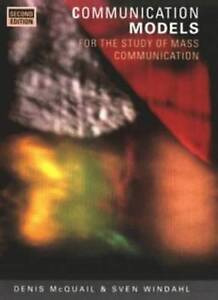 Communication Models: For the Study of Mass Communications-ExLibrary