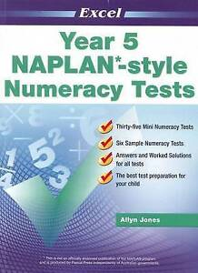 Excel NAPLAN-style Numeracy Tests Year 3 NEW Pascal Press #3