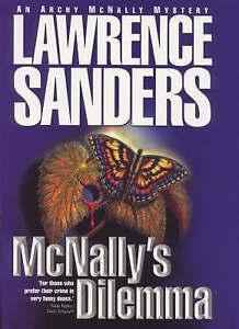 Lawrence Sanders' McNally's Dilemma by Vincent Lardo (Hardback, 1999) brand new