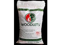 Woodlets wood pellets
