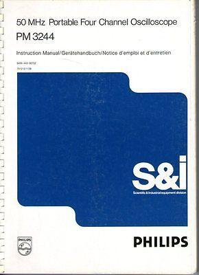 Philips Oscilloscope Pm3244 Manual