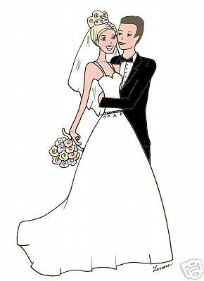 Marriage wedding bridal cards Personalized gift cute