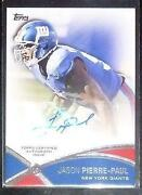 Jason Pierre Paul Signed