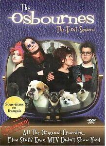 TV series: The Osbournes, Season 1 & 2 DVD Box sets 5$ each