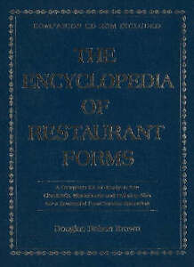 The Encyclopedia of Restaurant Forms: A Complete Kit of Ready-To-Use Checklists,
