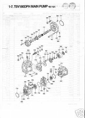 Kawasaki K3v 180dth Hydrostatic Cylinder Block Assembly