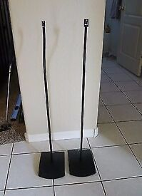 1 x Pair Bose lifestyle speaker stands ufs20 ufs-20 series 2 (black)