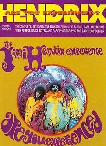 Jimi Hendrix-Are You Experienced/Complete Transcriptions book