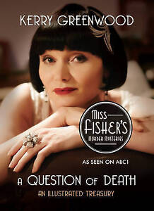 A Question of Death by Kerry Greenwood (Paperback, 2013) Miss Fishers Murder