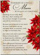 Christmas Grave Cards