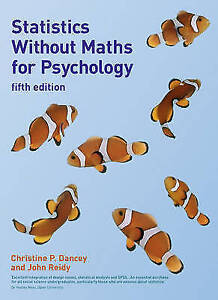 Statistics Without Maths for Psychology-ExLibrary
