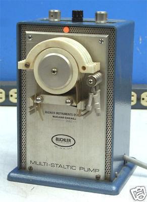 Buchler Instruments Multi-staltic Pump