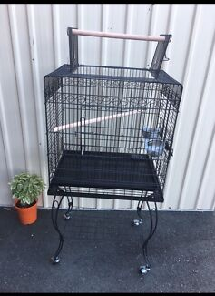 BRAND NEW - Beautiful bird cage on stand $120 flat packed