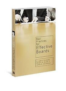 Best Practices for Effective Boards by Fairbanks, E. LeBron -Paperback