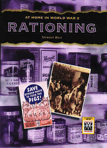 """VERY GOOD"" Stewart Ross, Rationing (At Home in World War II), Book"