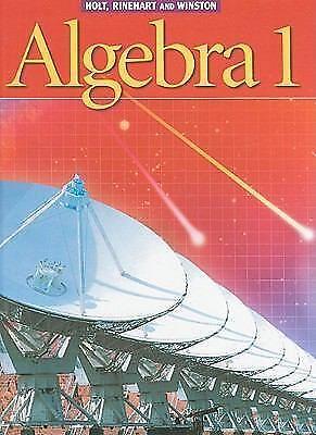 holt algebra 1 book pdf