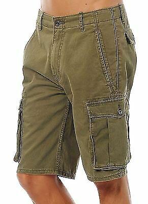 Levi's Men Premium Cotton Cargo Shorts Original Relaxed Fit