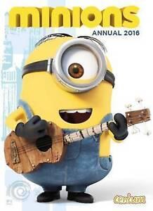 Official Minions Movie Annual 2016 by Centum Books Hardback 2015 - Berwick upon tweed, United Kingdom - Official Minions Movie Annual 2016 by Centum Books Hardback 2015 - Berwick upon tweed, United Kingdom
