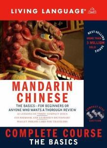 Living Language cd/book courses $8 Chinese London Ontario image 1