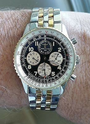 On the larger side- the Breitling Navitimer