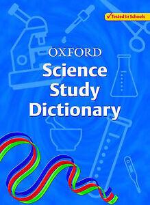 Oxford Science Study Dictionary by Chris Prescott (Paperback, 2006)